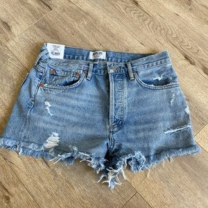 NWT AGOLDE Parker shorts